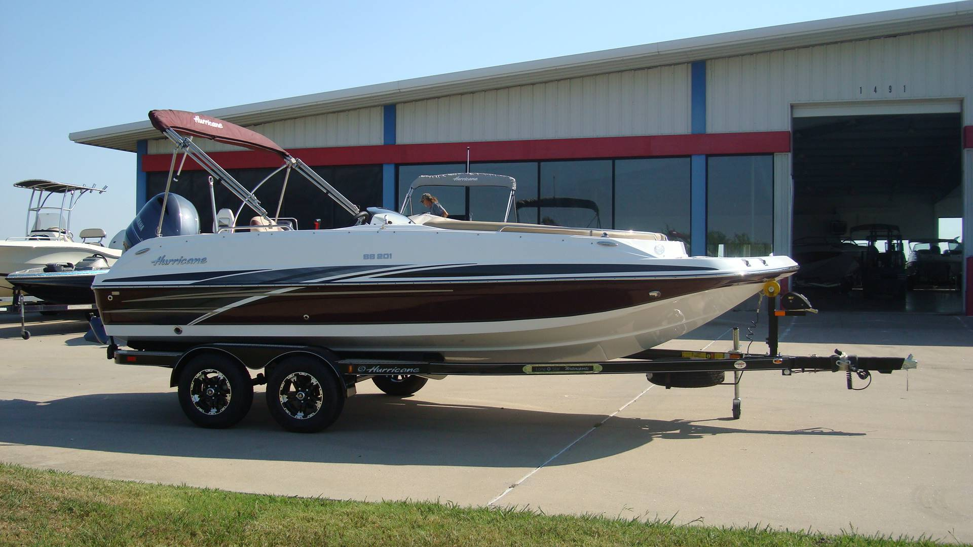 2018 Hurricane SunDeck Sport 201 OB in Lewisville, Texas - Photo 11