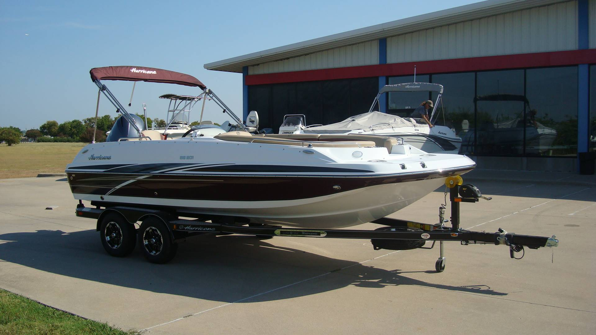 2018 Hurricane SunDeck Sport 201 OB in Lewisville, Texas - Photo 12
