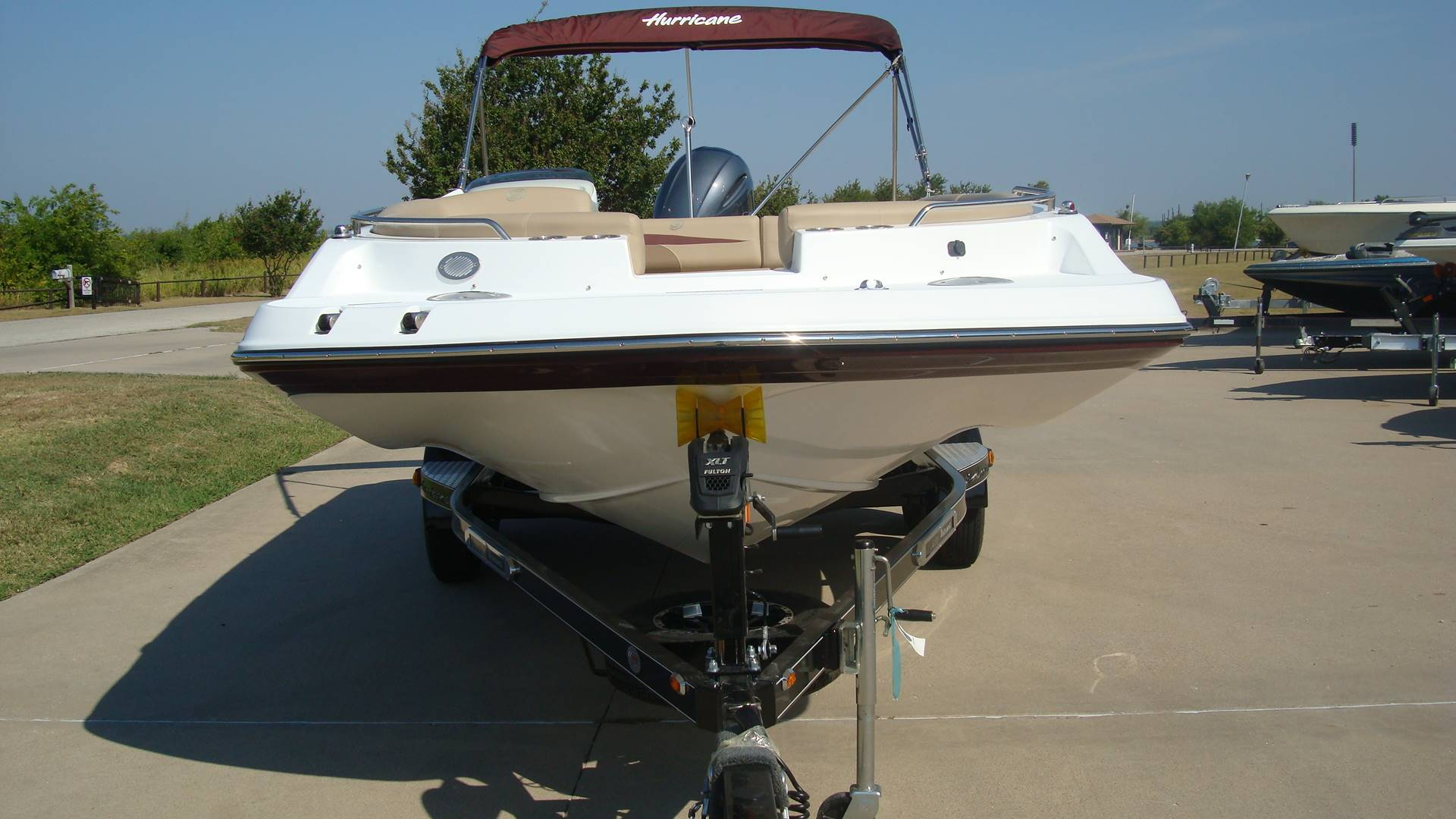 2018 Hurricane SunDeck Sport 201 OB in Lewisville, Texas - Photo 13