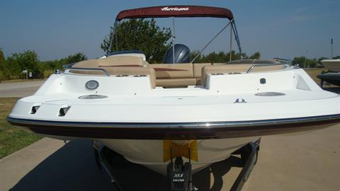2018 Hurricane SunDeck Sport 201 OB in Lewisville, Texas - Photo 14