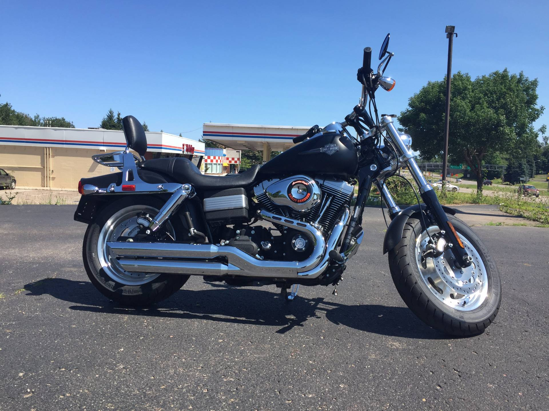2010 Harley-Davidson FATBOB in Marquette, Michigan