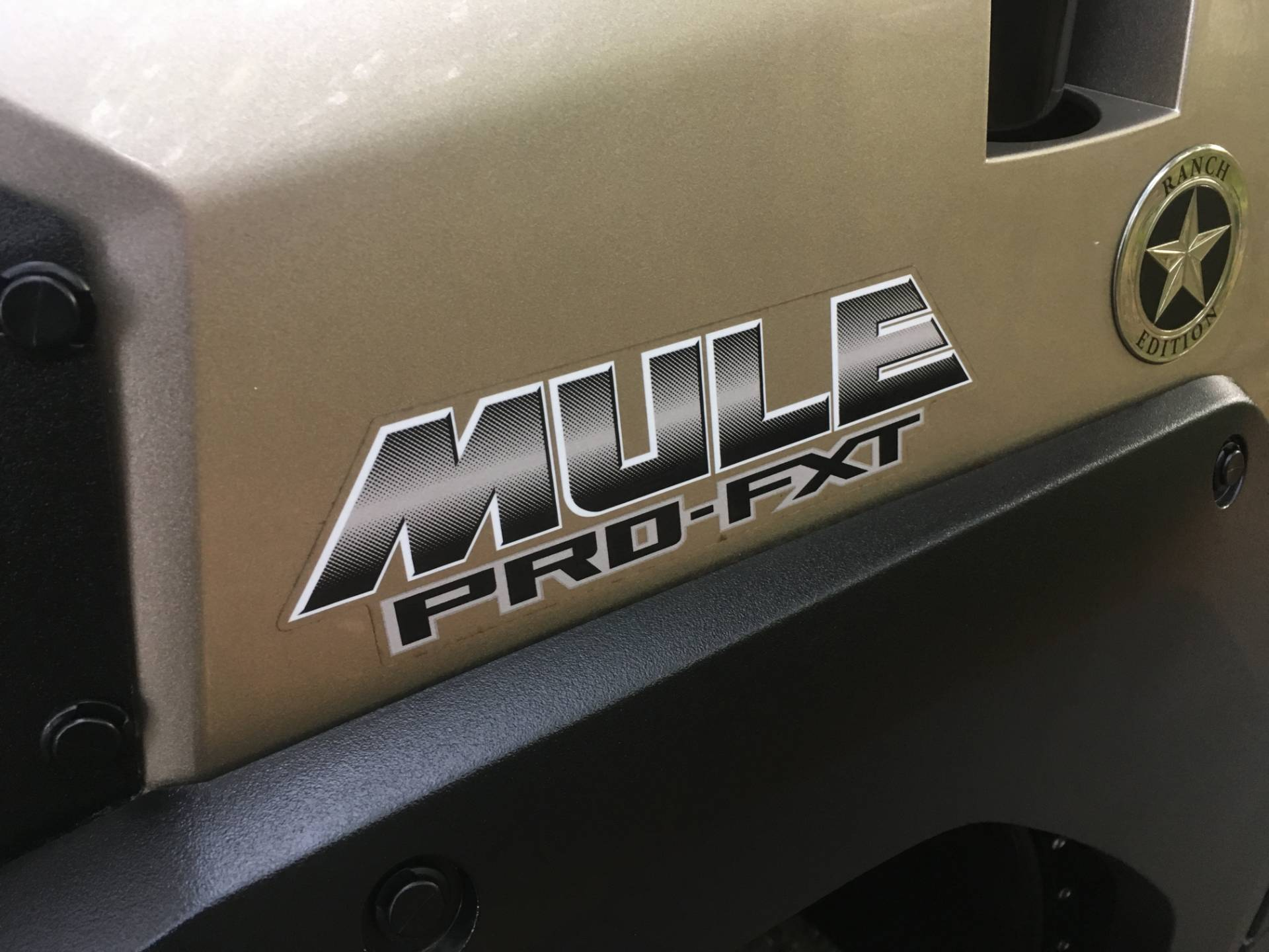 2017 Kawasaki MULE PRO FXT RANCH EDITION 8