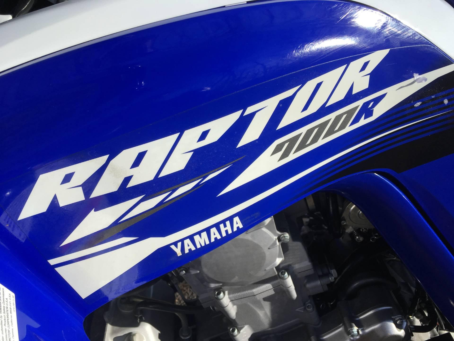 2018 Yamaha Raptor 700R 8