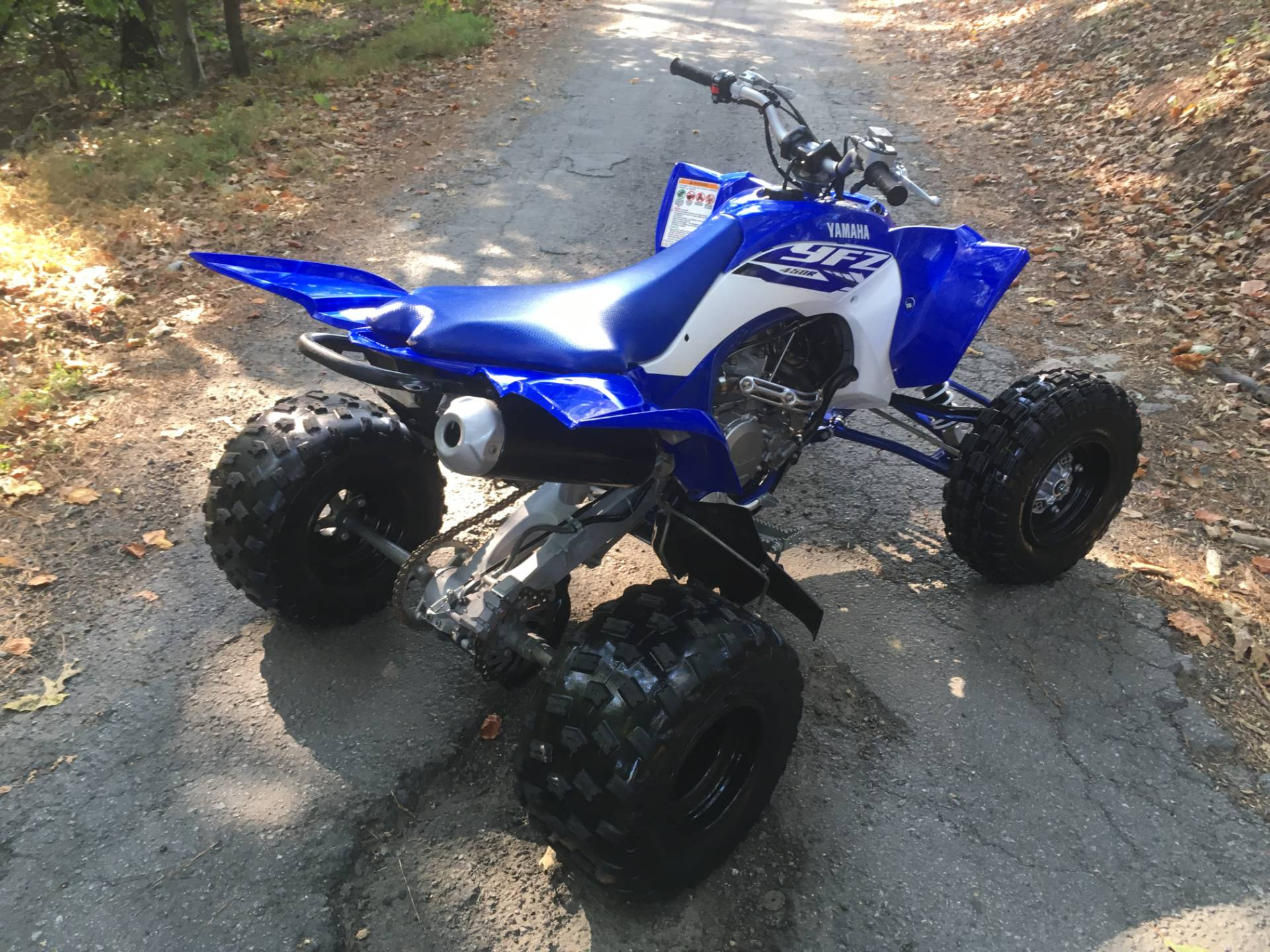 2018 YAMAHA YFZ 450 R in Woodstock, Georgia - Photo 4