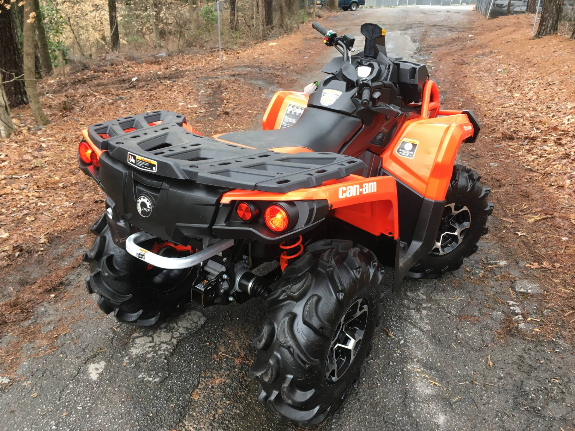 2018 CAN-AM OUTLANDER 650 X MR RED in Woodstock, Georgia - Photo 4