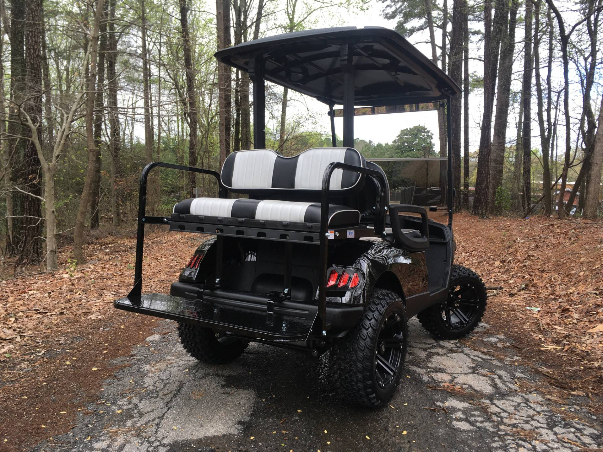 2014 YAMAHA DRIVE G-29 GAS GOLF CART in Woodstock, Georgia - Photo 4