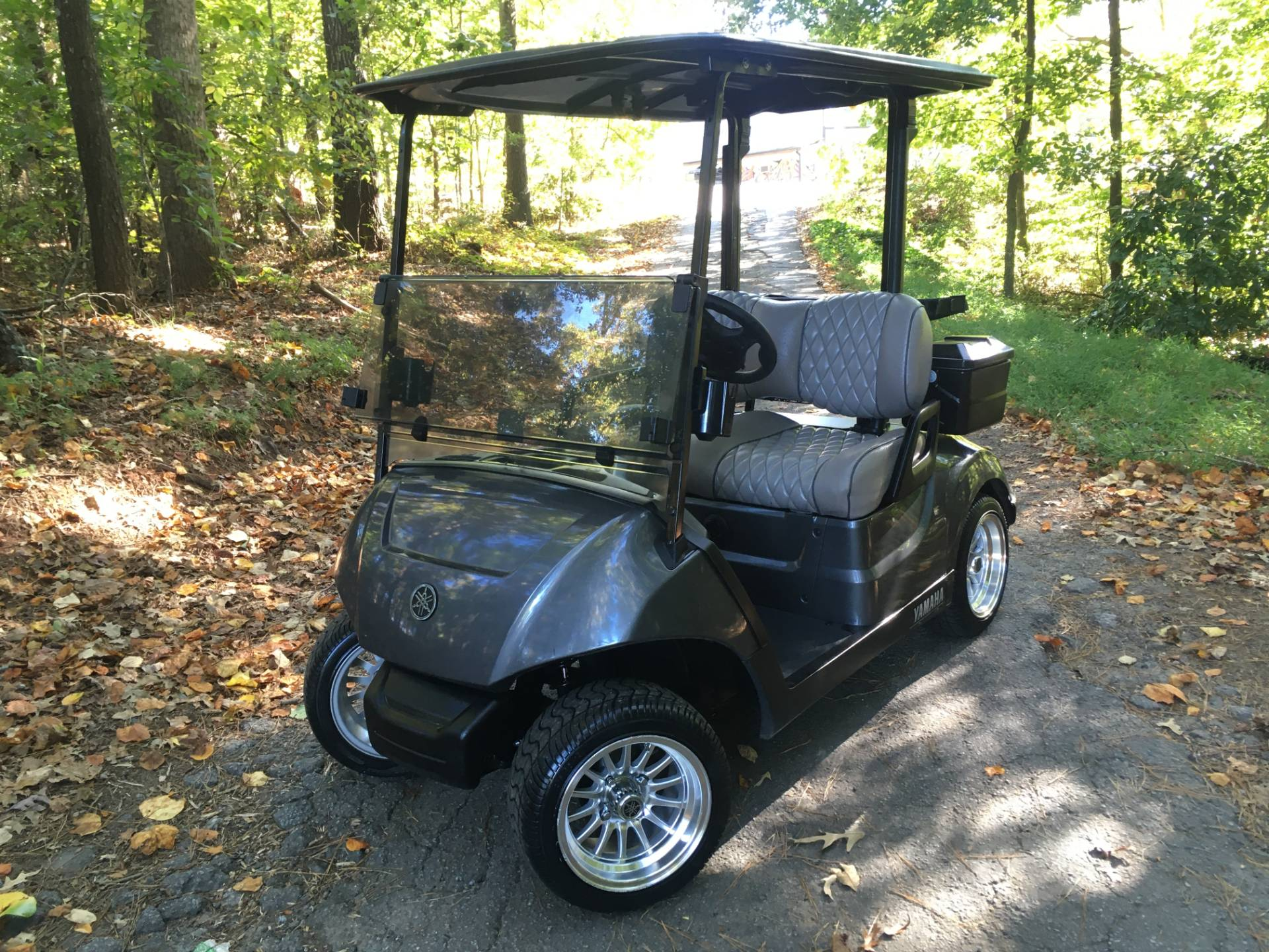 2018 YAMAHA DRIVE 2 ELECTRIC GOLF CART in Woodstock, Georgia - Photo 1