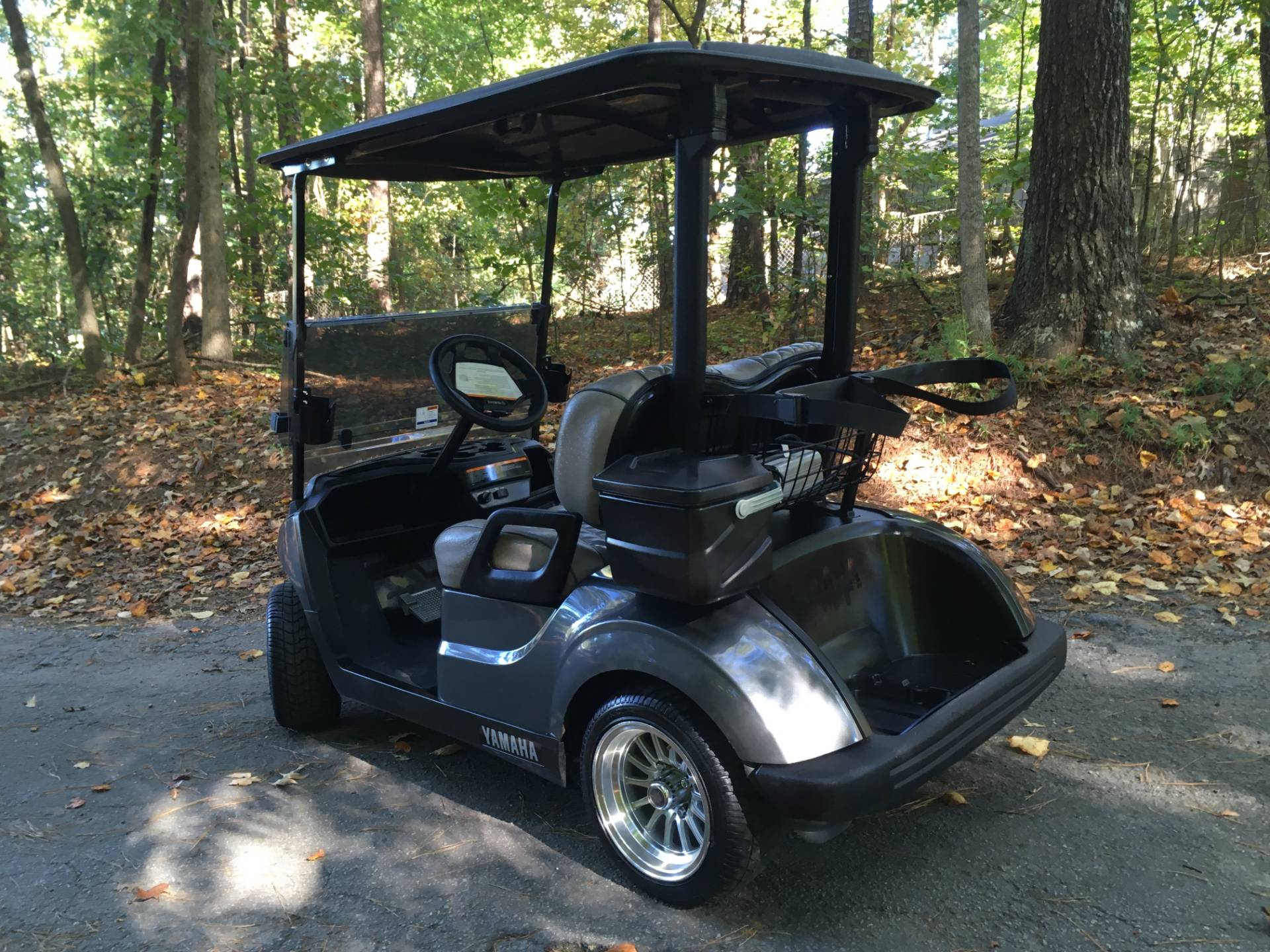 2018 YAMAHA DRIVE 2 ELECTRIC GOLF CART in Woodstock, Georgia - Photo 3