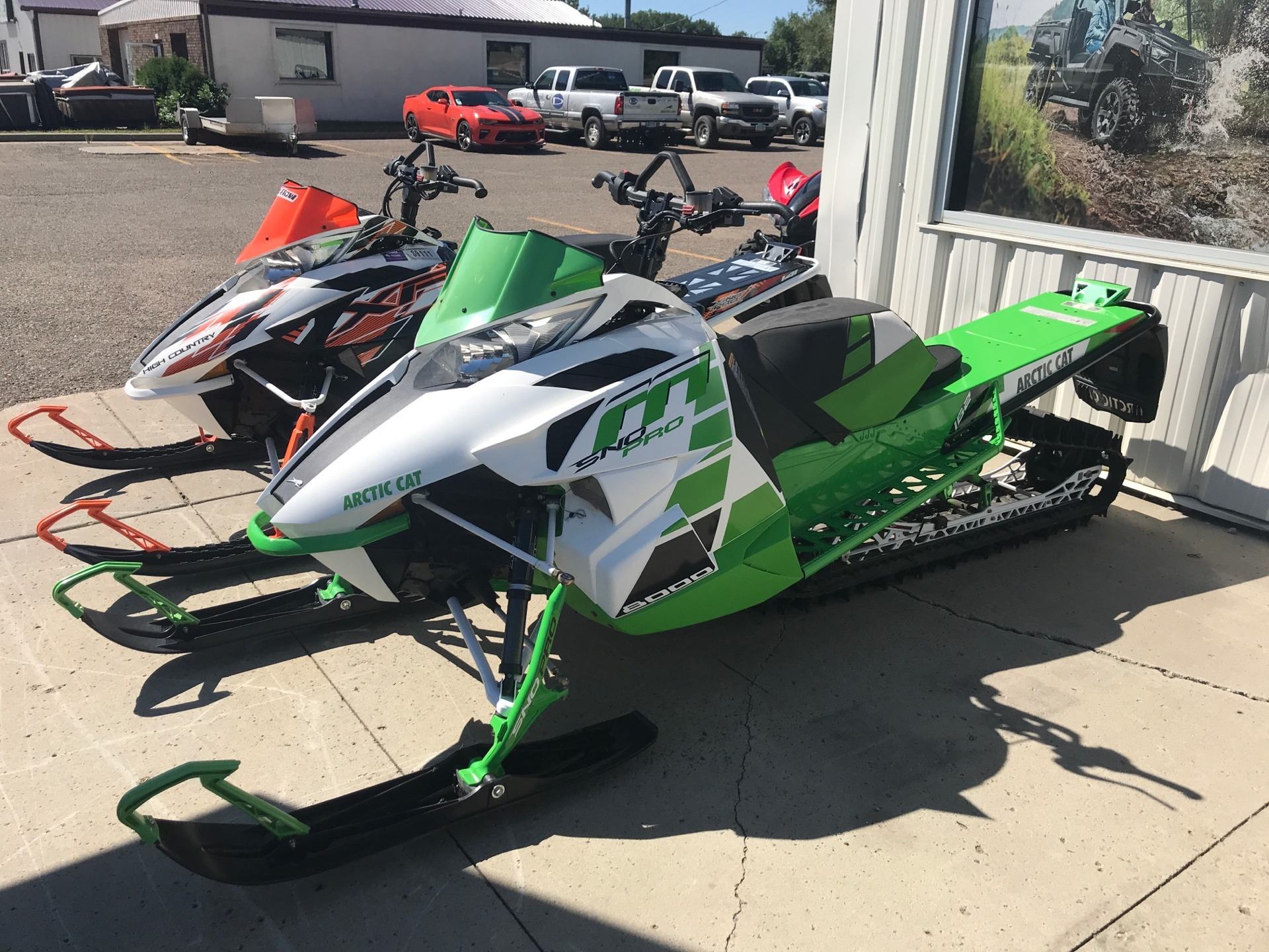 2017 Arctic Cat M 8000 Sno Pro 162 in Bismarck, North Dakota - Photo 1