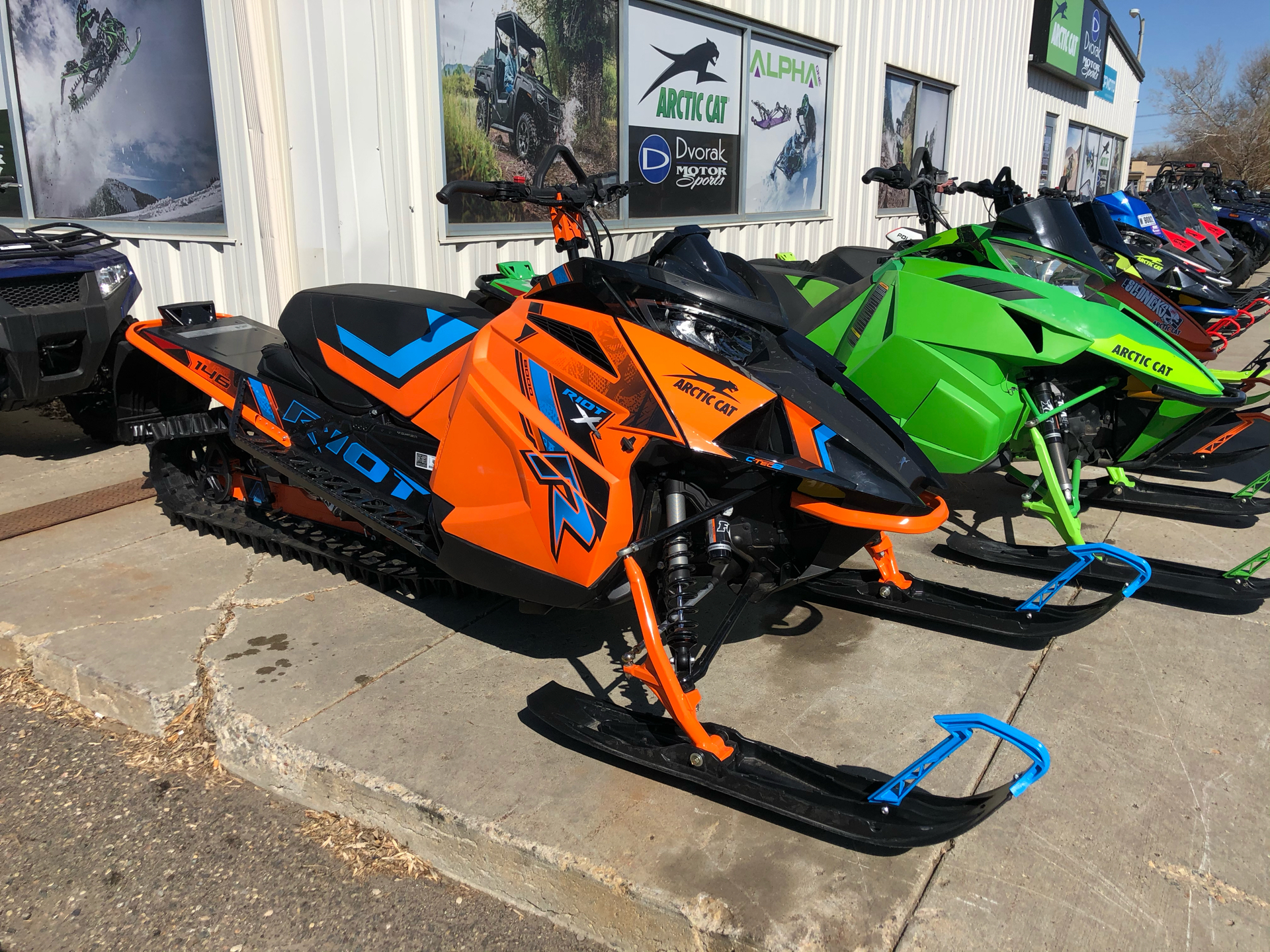 2021 Arctic Cat Riot X 8000 QS3 ES in Bismarck, North Dakota - Photo 1
