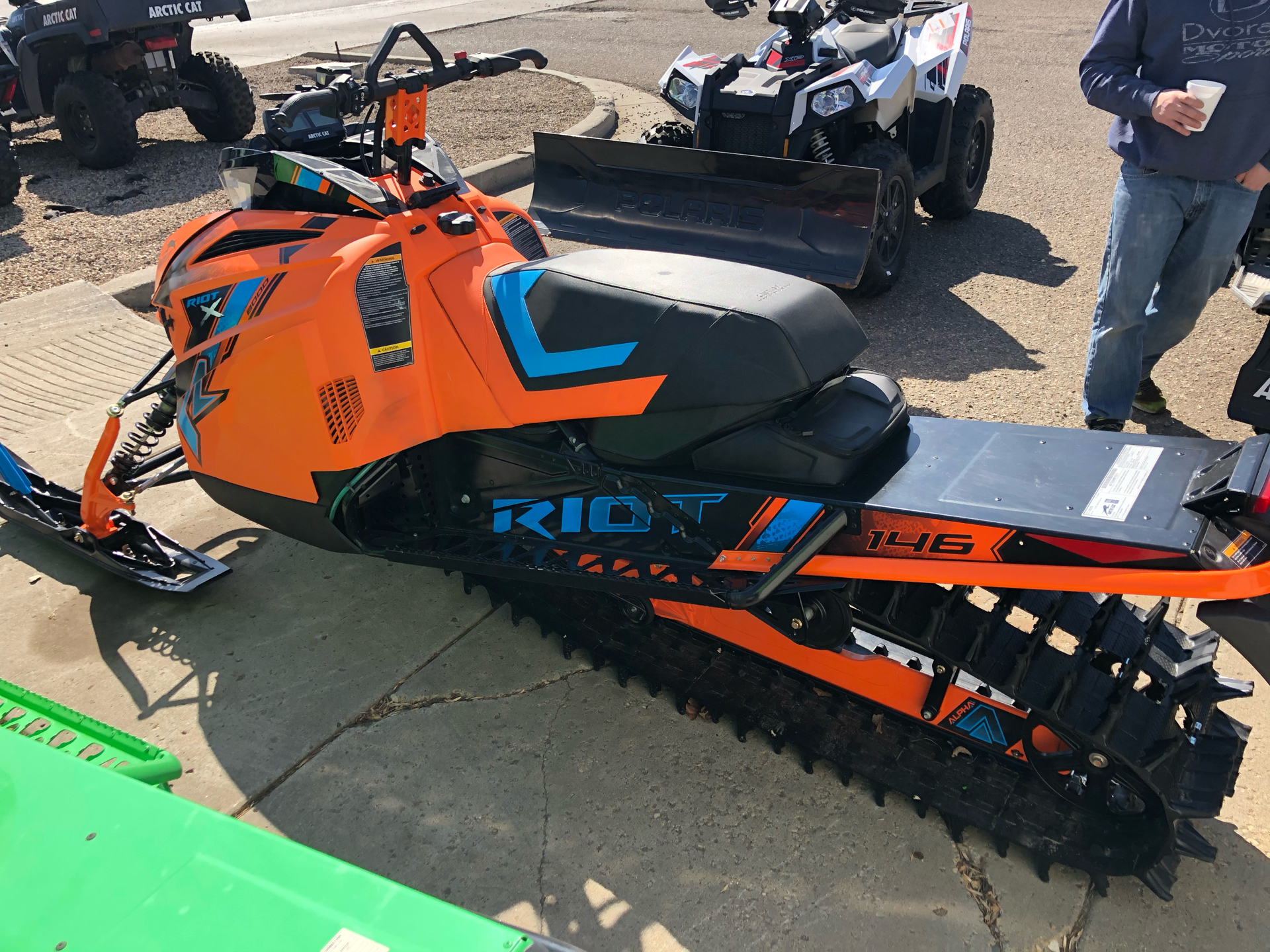 2021 Arctic Cat Riot X 8000 QS3 ES in Bismarck, North Dakota - Photo 2