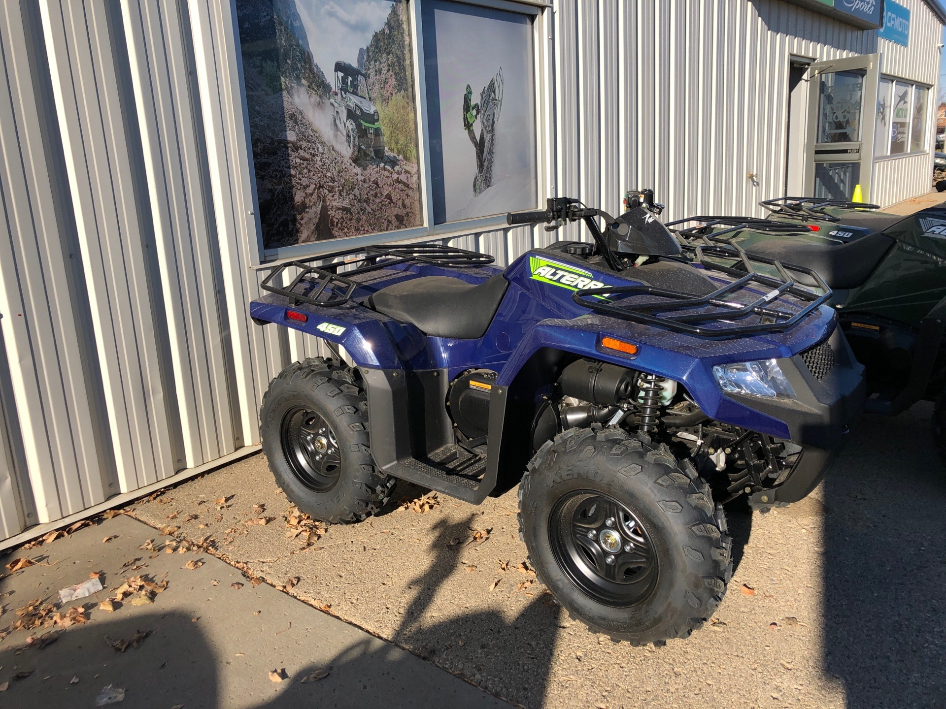 2021 Arctic Cat Alterra 450 in Bismarck, North Dakota - Photo 1