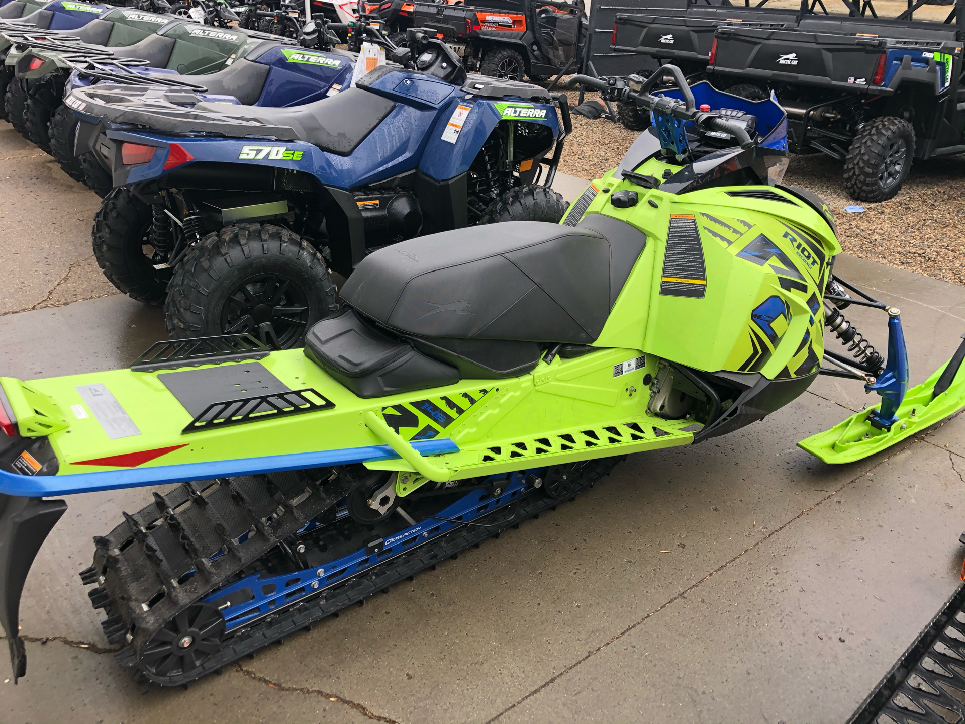 2020 Arctic Cat Riot 8000 QS3 1.60 ES in Bismarck, North Dakota - Photo 8