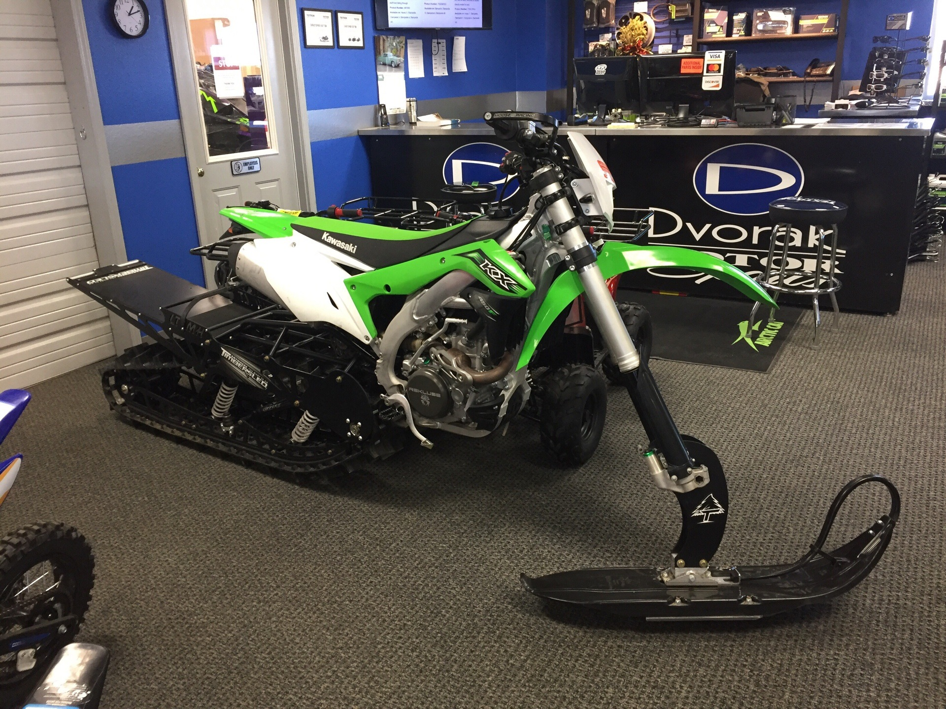 2016 Kawasaki KX450F in Bismarck, North Dakota