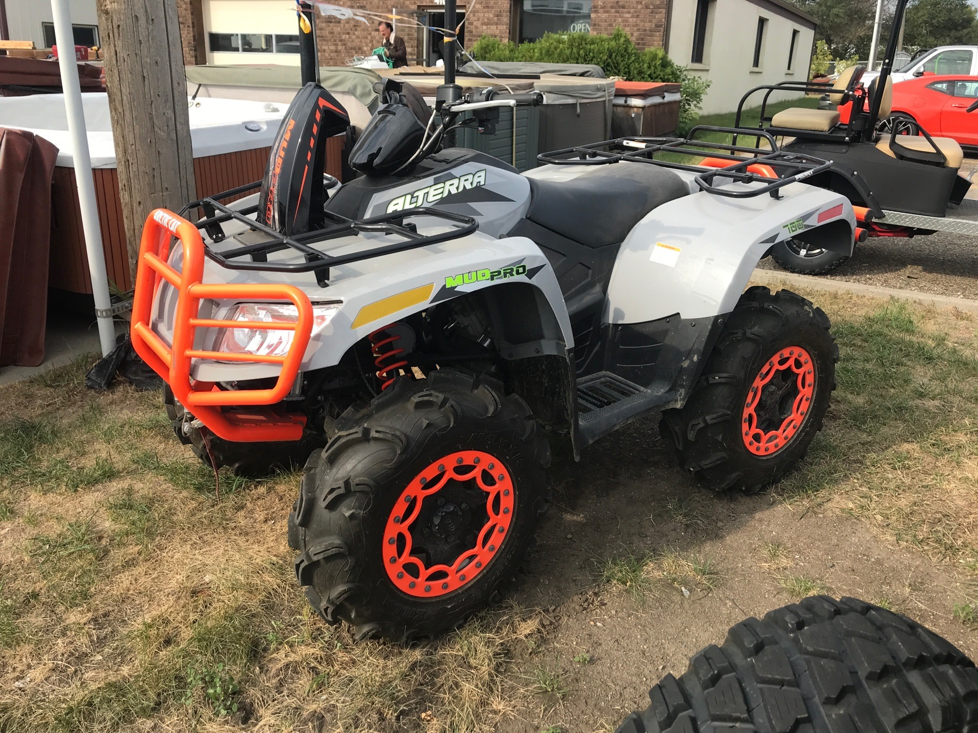 2017 Arctic Cat MudPro 700 Limited EPS in Bismarck, North Dakota - Photo 1