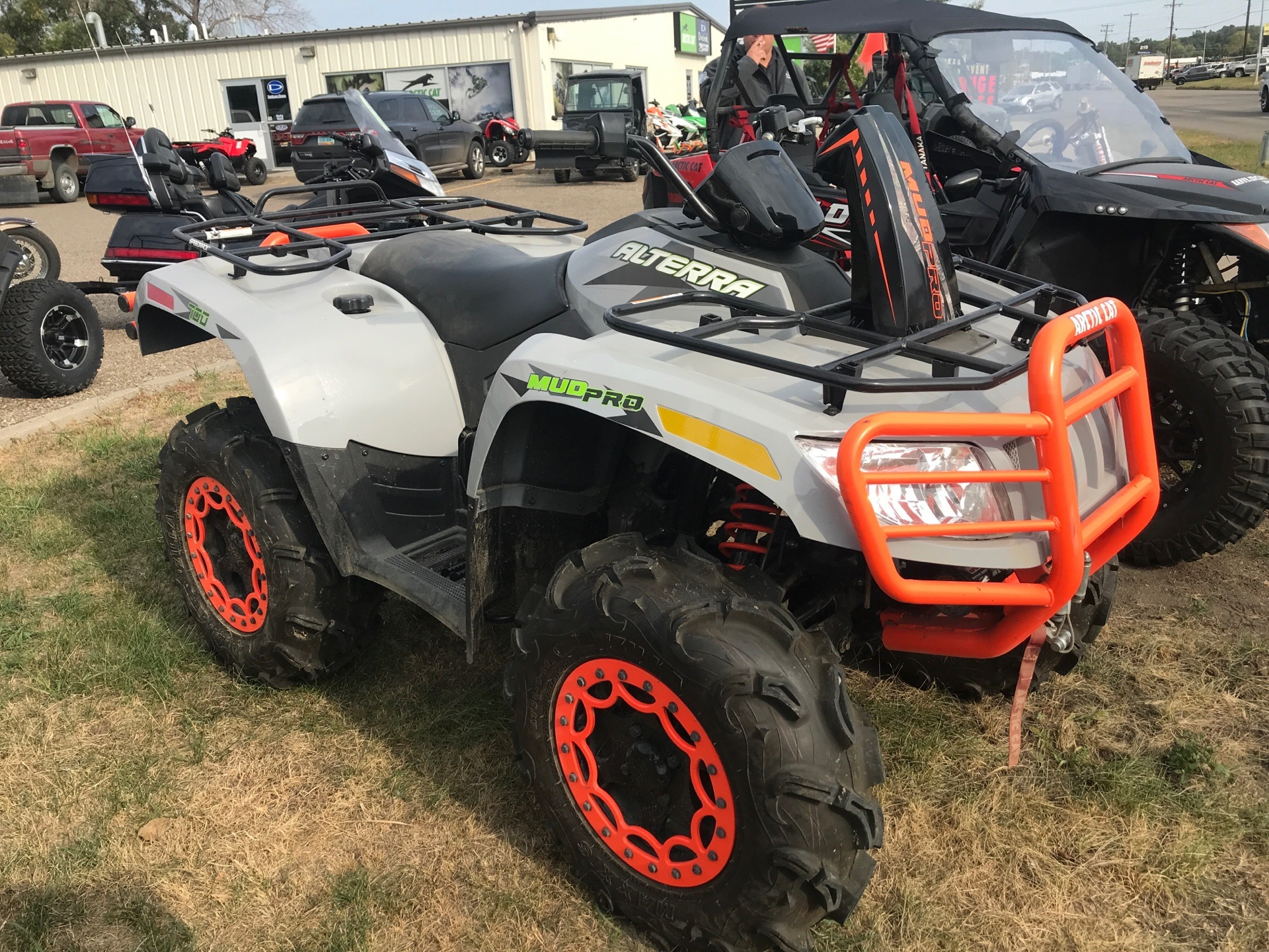 2017 Arctic Cat MudPro 700 Limited EPS in Bismarck, North Dakota - Photo 2