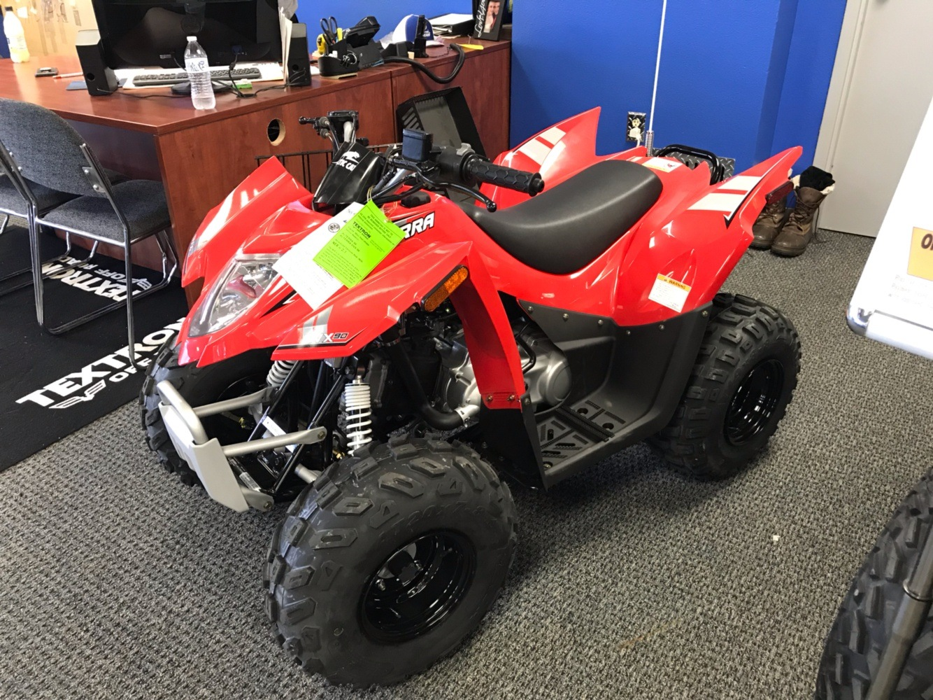 2018 Arctic Cat Alterra DVX 90 in Bismarck, North Dakota - Photo 1
