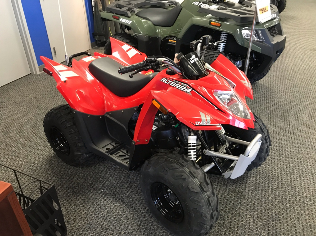 2018 Arctic Cat Alterra DVX 90 in Bismarck, North Dakota - Photo 2