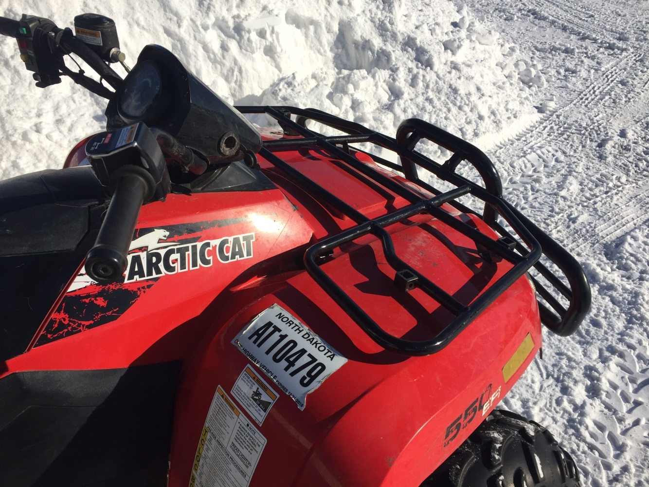 2014 Arctic Cat 550 Limited in Bismarck, North Dakota