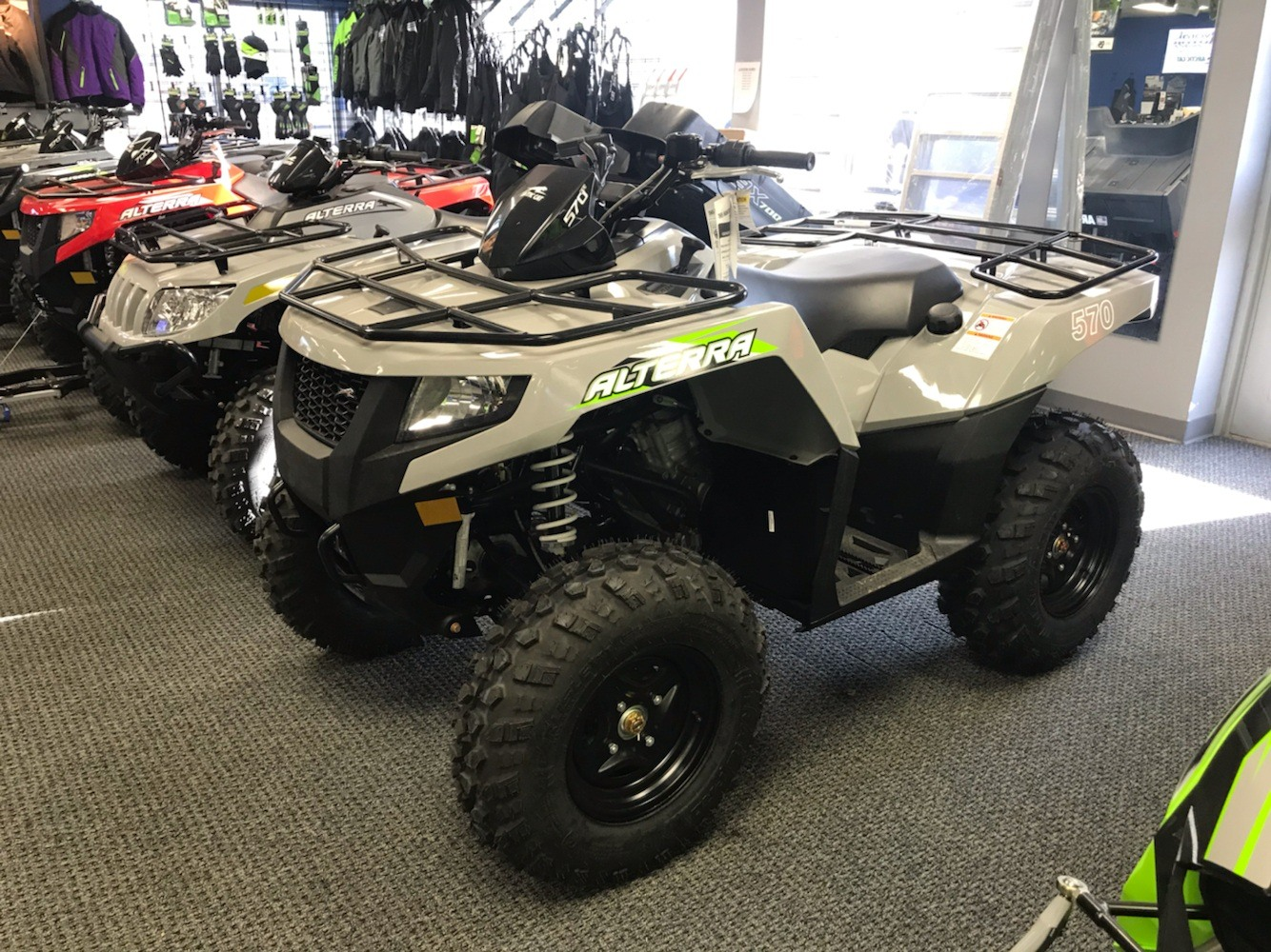 2020 Arctic Cat Alterra 570 in Bismarck, North Dakota - Photo 1