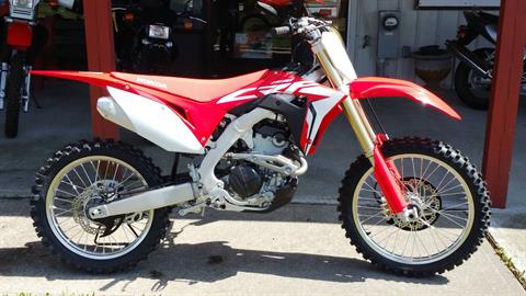 2018 Honda CRF250R in Palatine Bridge, New York