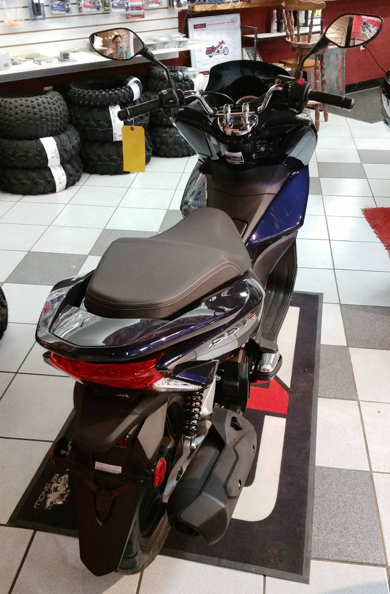 2018 Honda PCX150 in Palatine Bridge, New York - Photo 3