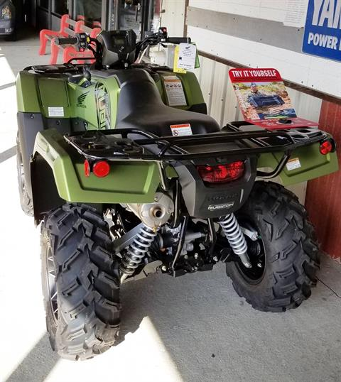 2020 Honda FourTrax Foreman Rubicon 4x4 Automatic DCT EPS Deluxe in Palatine Bridge, New York - Photo 2