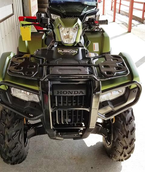 2020 Honda FourTrax Foreman Rubicon 4x4 Automatic DCT EPS Deluxe in Palatine Bridge, New York - Photo 3