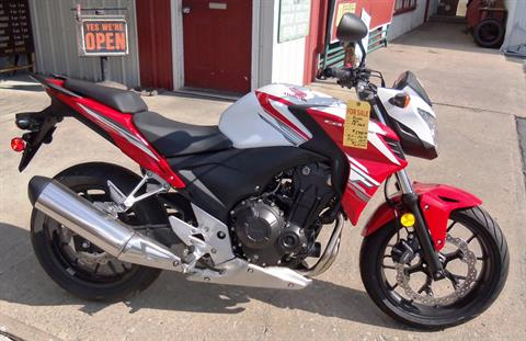 2015 Honda CB500F in Palatine Bridge, New York - Photo 1