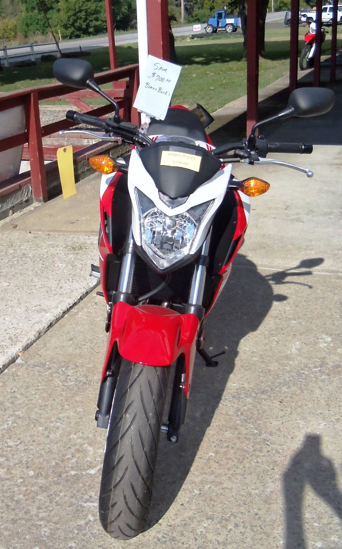 2015 Honda CB500F in Palatine Bridge, New York - Photo 2