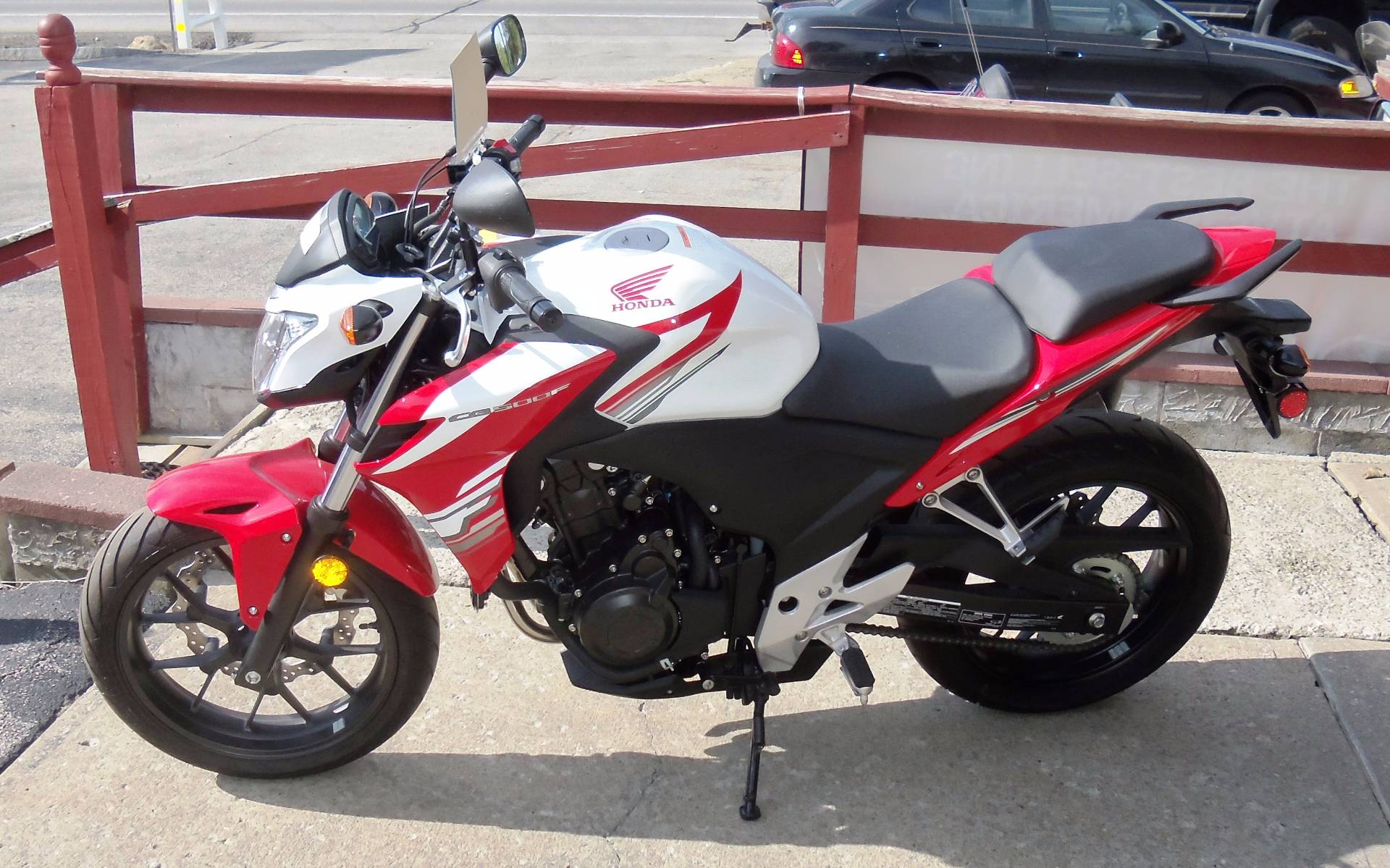 2015 Honda CB500F in Palatine Bridge, New York - Photo 3