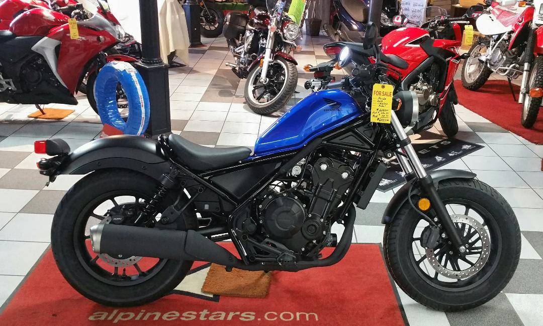 2018 Honda Rebel 500 in Palatine Bridge, New York - Photo 1