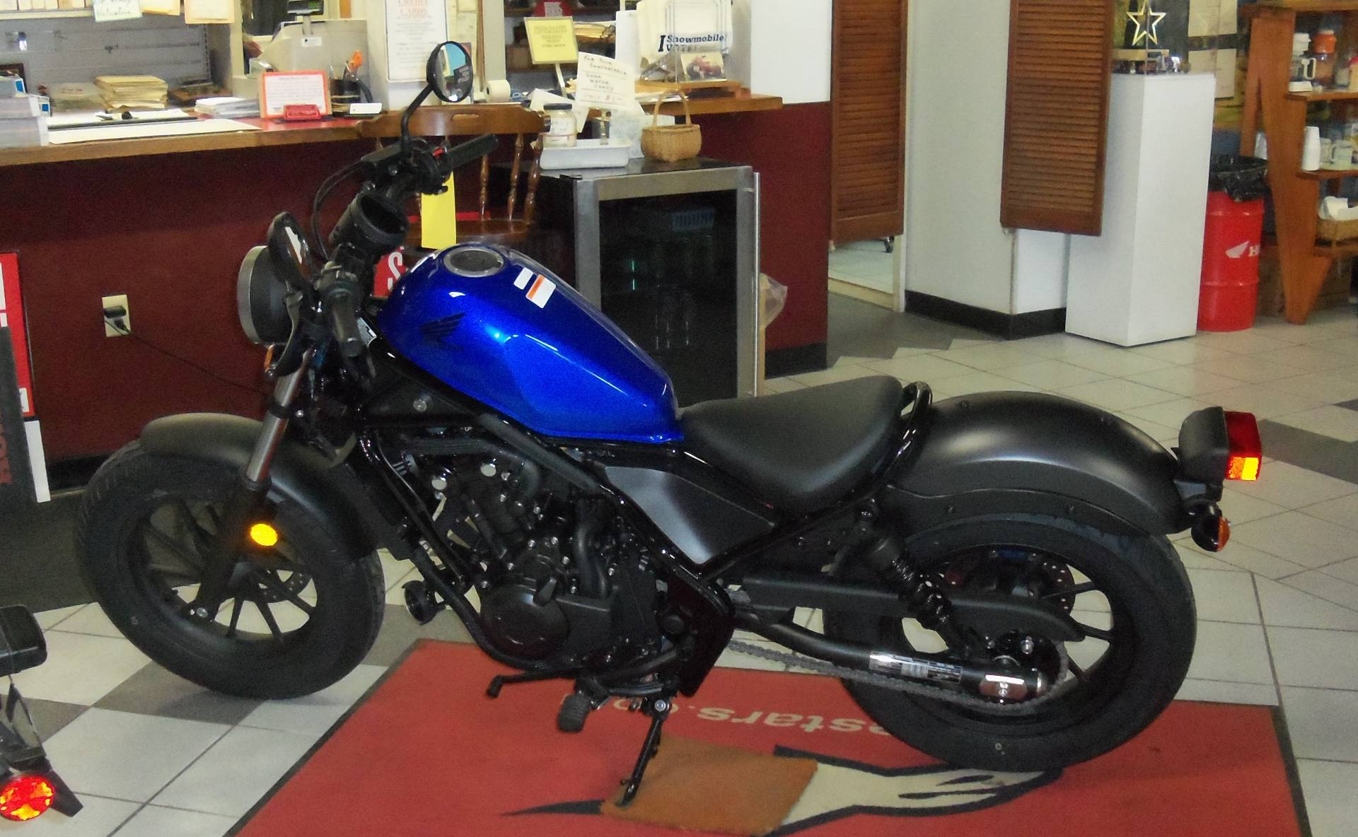 2018 Honda Rebel 500 in Palatine Bridge, New York - Photo 3