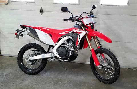 2019 Honda CRF450L in Palatine Bridge, New York