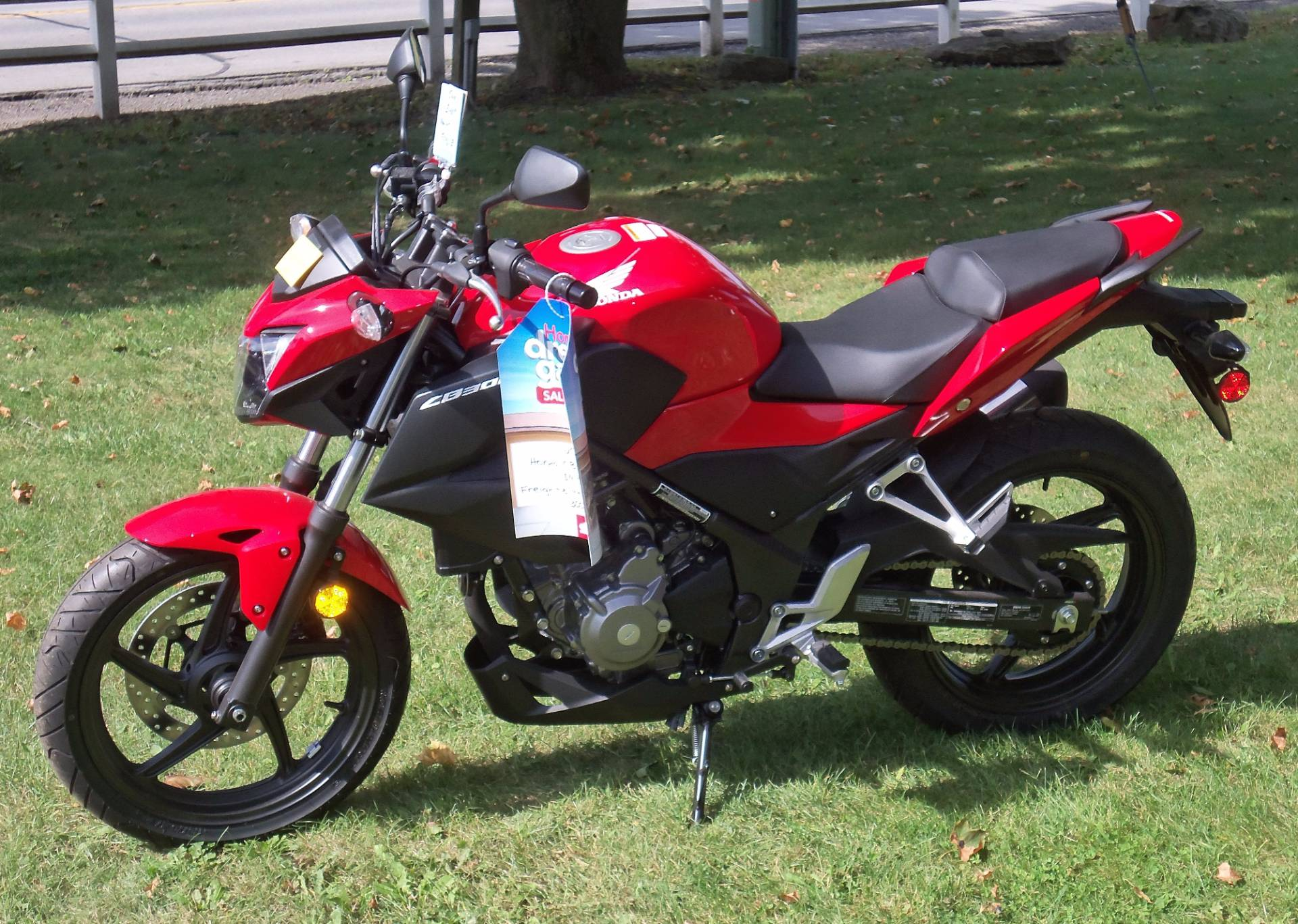 2015 Honda CB300F in Palatine Bridge, New York