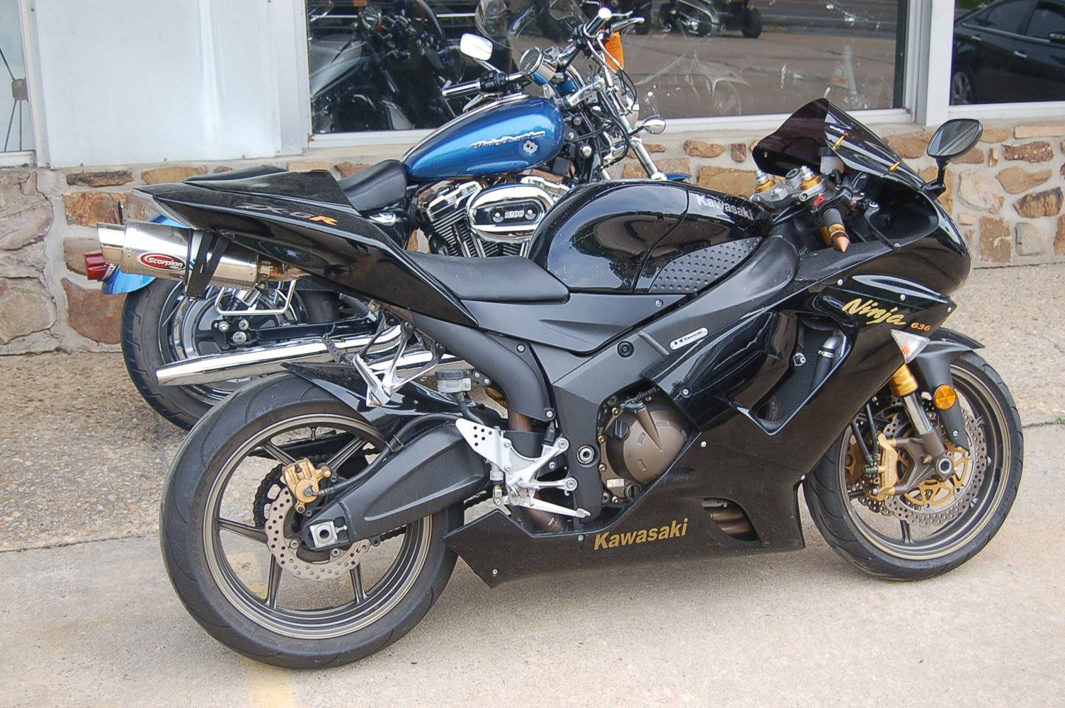 2006 Kawasaki Ninja ZX-6RR in North Little Rock, Arkansas