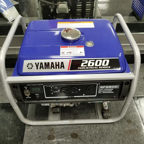 Yamaha EF2600 in North Little Rock, Arkansas - Photo 1