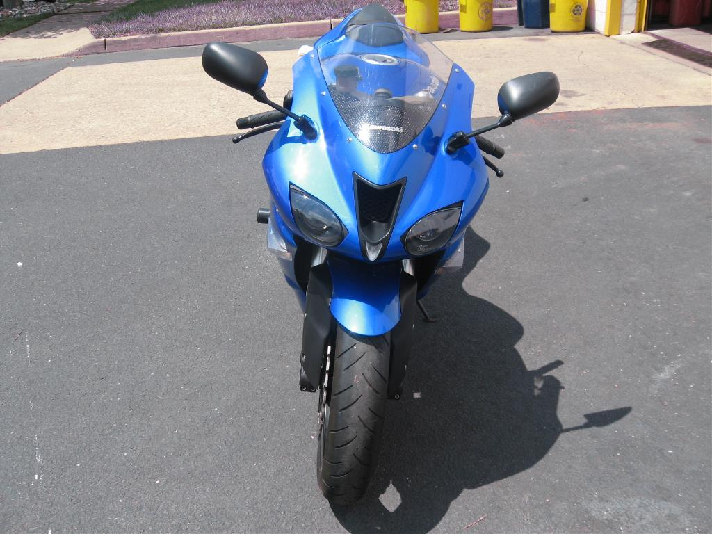 2008 Kawasaki Ninja® ZX™-6R in Trenton, New Jersey