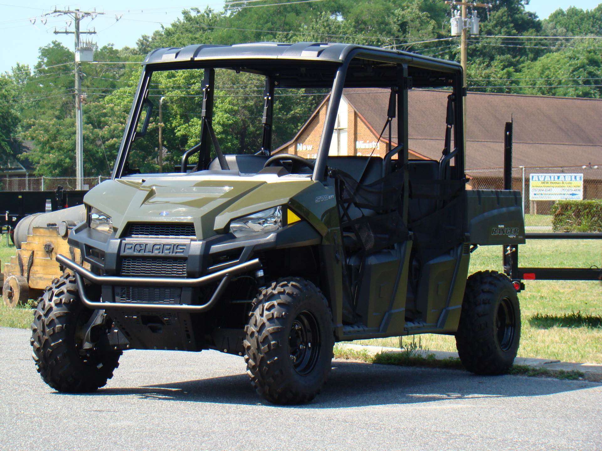 2020 Polaris Ranger Crew 570-4 in Hayes, Virginia - Photo 1