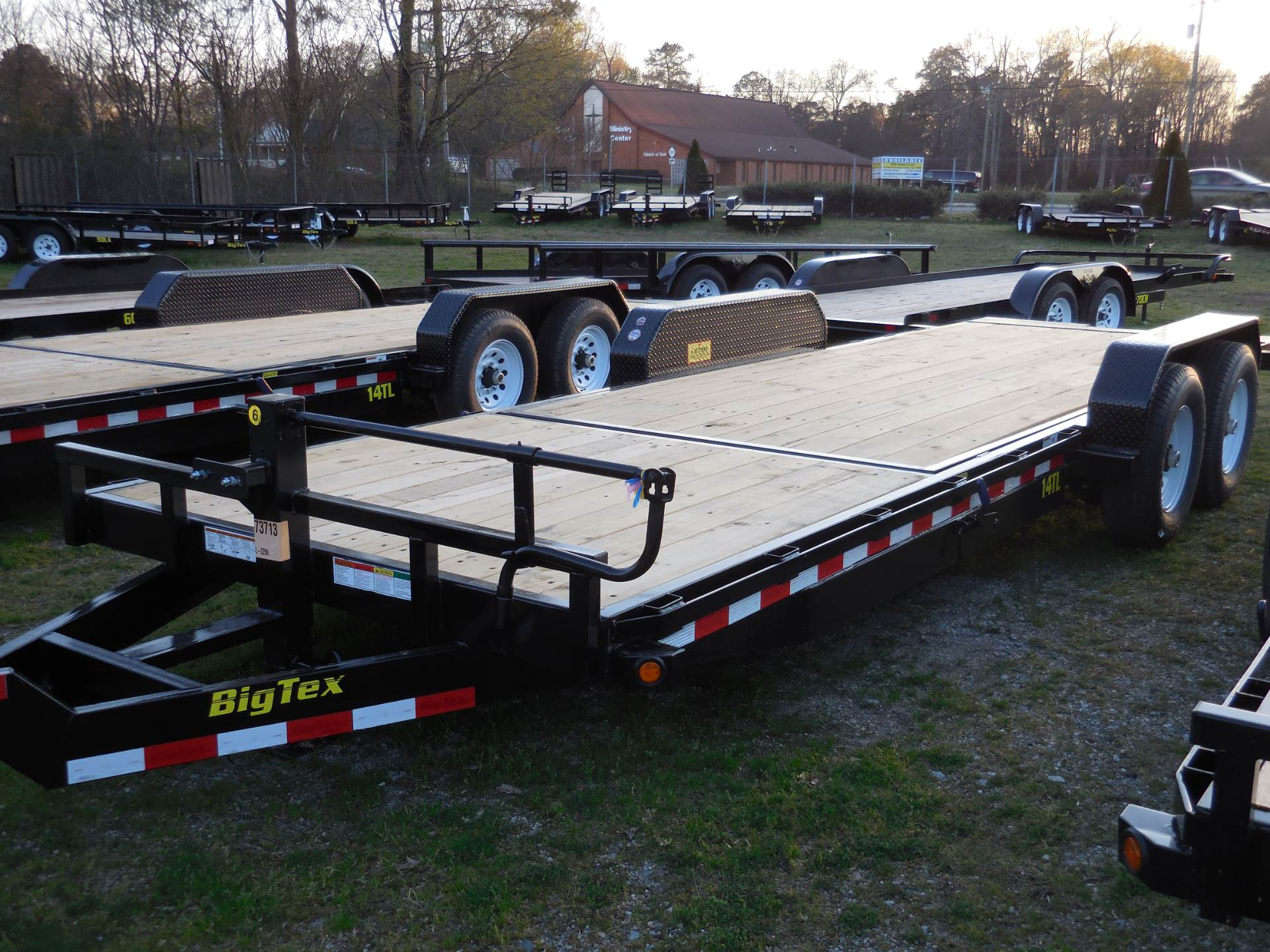 2019 Big Tex Trailers 14TL-22BK in Hayes, Virginia - Photo 1