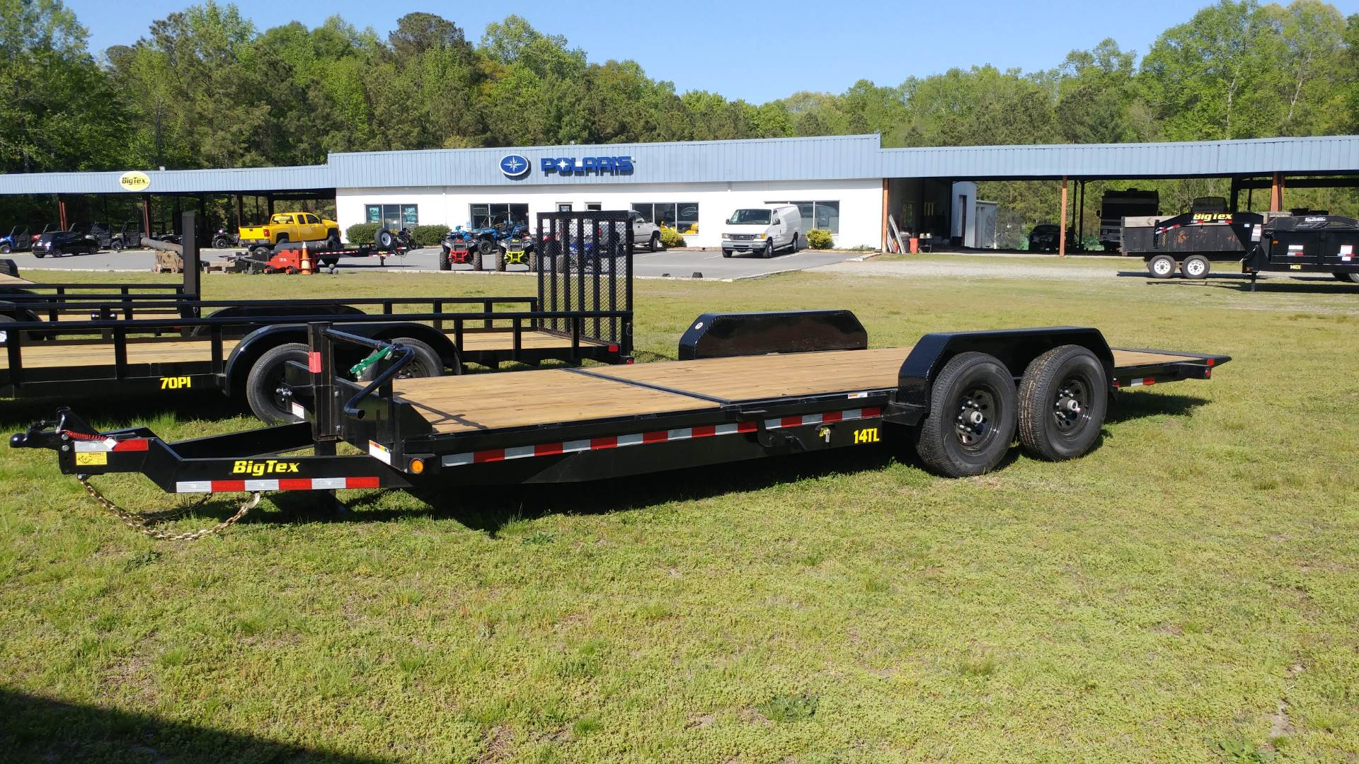 2019 Big Tex Trailers 14TL-22BK in Hayes, Virginia