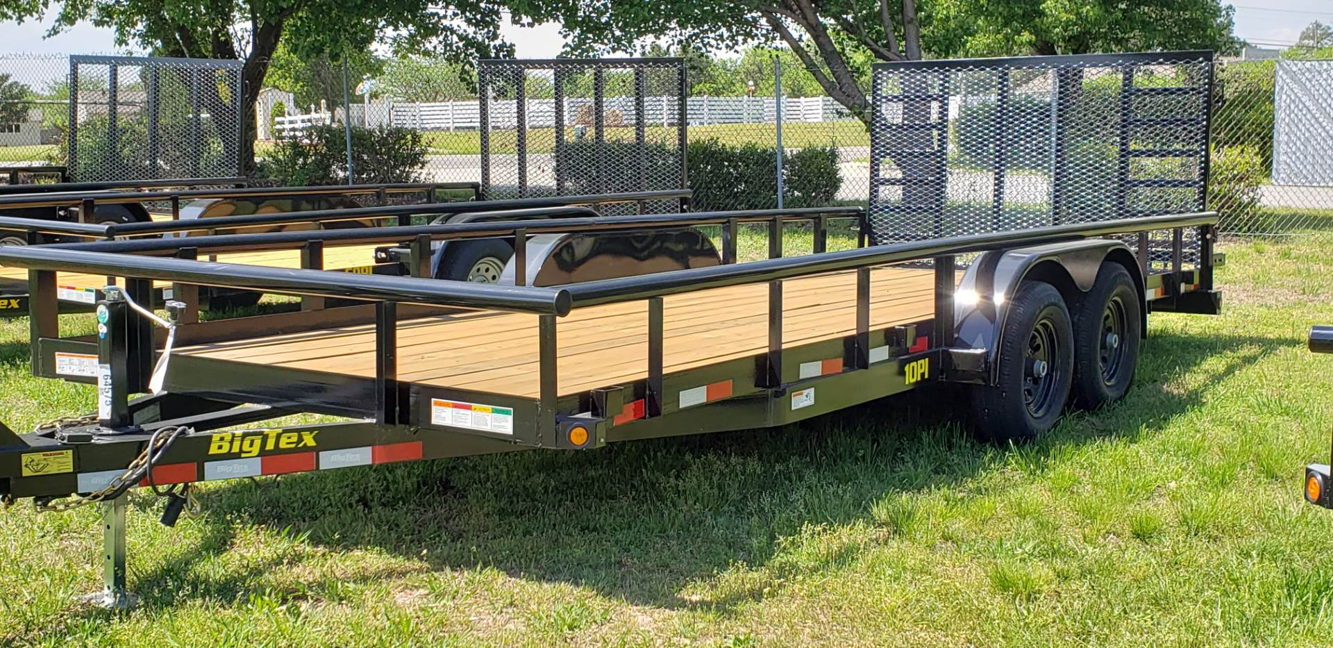 2019 Big Tex Trailers 10PI-20BK in Hayes, Virginia