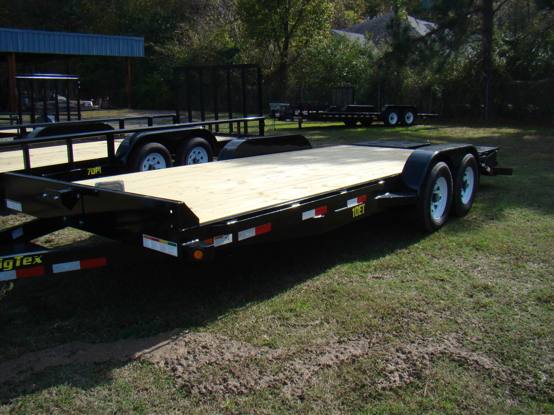 2018 Big Tex Trailers 20'Equipment trailer in Hayes, Virginia