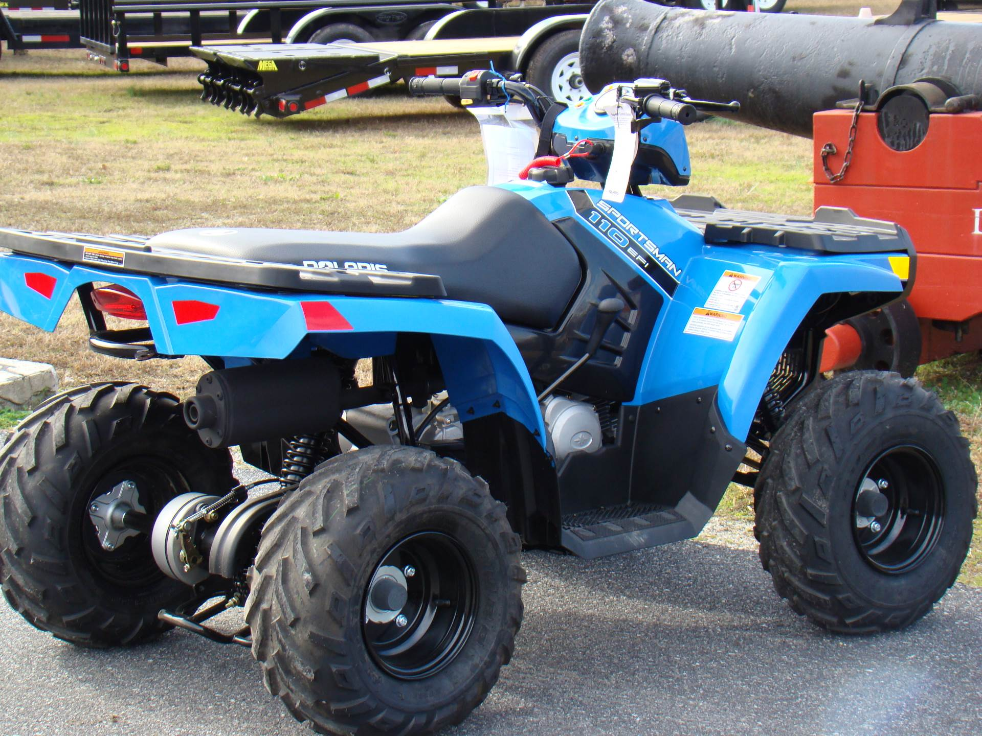 2020 Polaris Sportsman 110 EFI in Hayes, Virginia - Photo 8