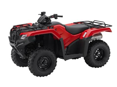2016 Honda FourTrax Rancher 4x4 Automatic DCT in Belle Plaine, Minnesota
