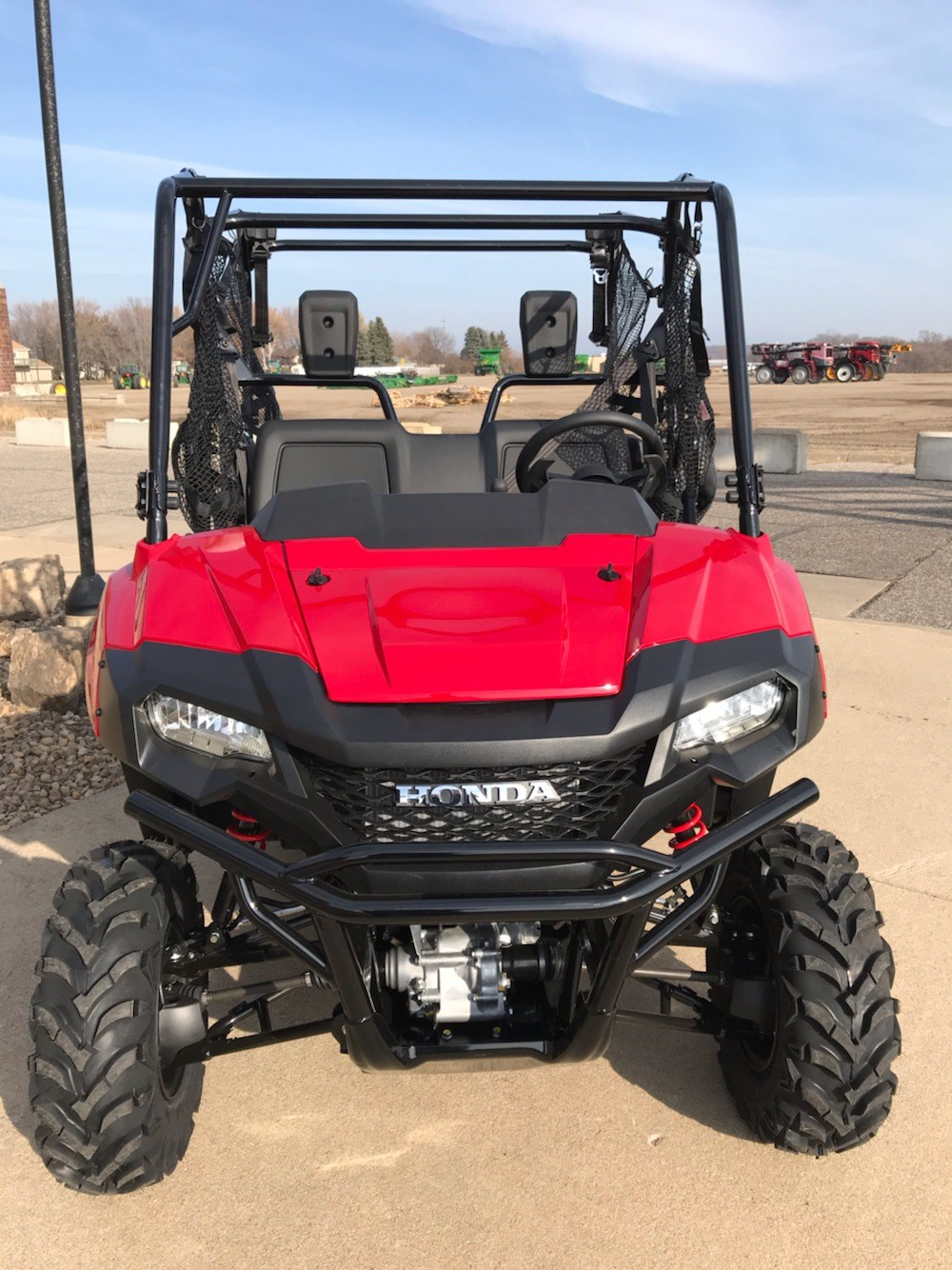 2020 Honda Pioneer 700-4 Deluxe in Belle Plaine, Minnesota - Photo 2