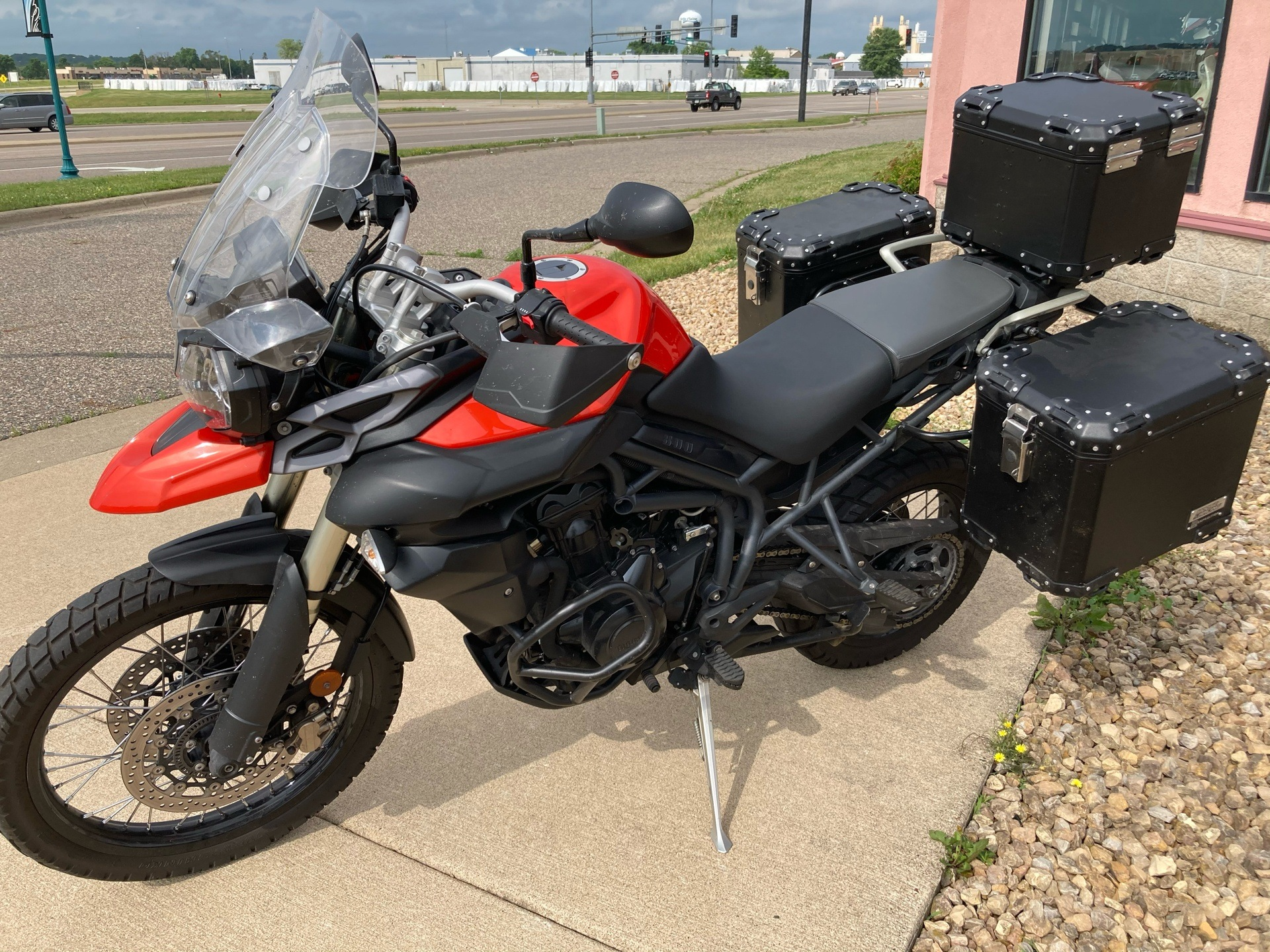 2012 Triumph Tiger 800 XC ABS in Belle Plaine, Minnesota - Photo 4
