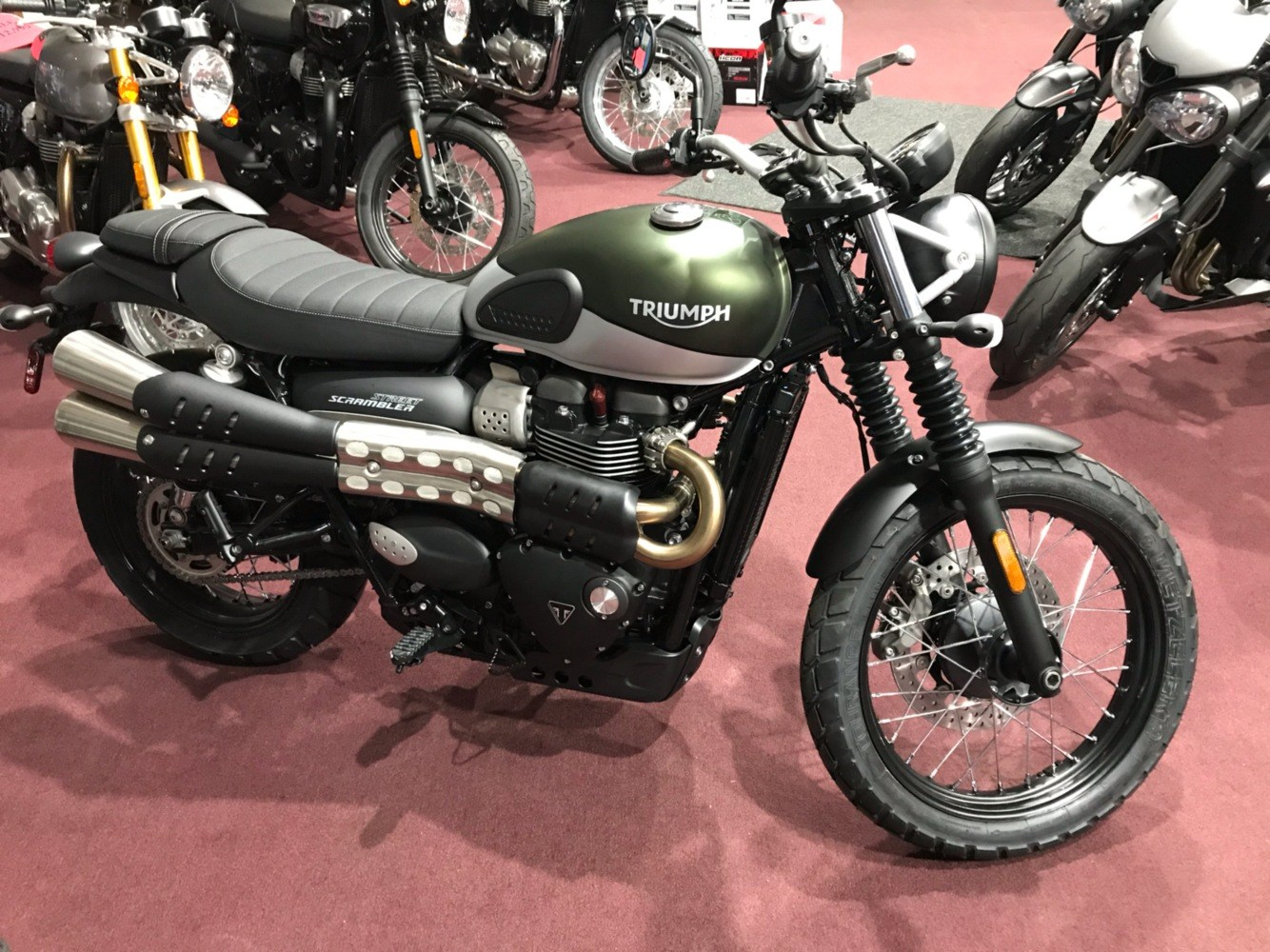2019 Triumph Street Scrambler 900 in Belle Plaine, Minnesota - Photo 1