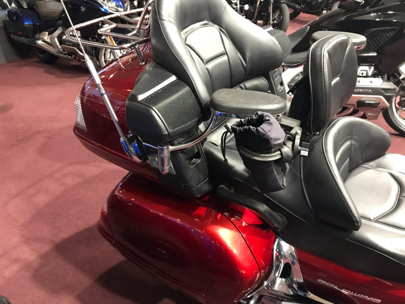 2008 Honda Gold Wing® Premium Audio in Belle Plaine, Minnesota - Photo 8