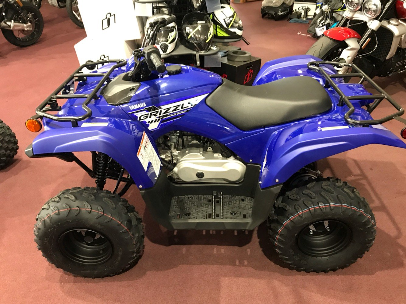 2020 Yamaha Grizzly 90 in Belle Plaine, Minnesota - Photo 1